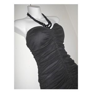 🔴 CLEARANCE 🔴 BLACK B. DARLIN RUFFLE TULLE DRESS